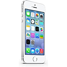 Apple iPhone 5S Plata 32GB Smartphone Libre (Reacondicionado Certificado)