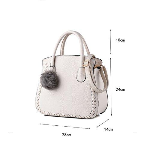 CLOTHES- Versione coreana dei sacchetti delle donne del sacchetto Nuovi sacchetti di spalla semplici Sacchetto selvaggio Sacchetto del messaggero Sacchetti delle signore mini ( Colore : Nero ) Hite