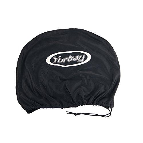 Yorbay Motorradhelm Integralhelm Sturzhelm Helm mit verschienden Typen & in unterschiedlichen Größen (Schwarz matt, M) - 5