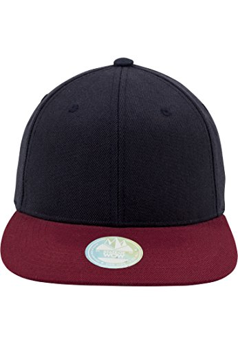 STATE OF WOW - Casquette Wow 'Two Tone' - TWO TONE Snapback FV Bleu Marine