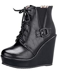 669fecf4a Amazon.es: botas tacon alto - 36.5 / Zapatos para mujer / Zapatos ...