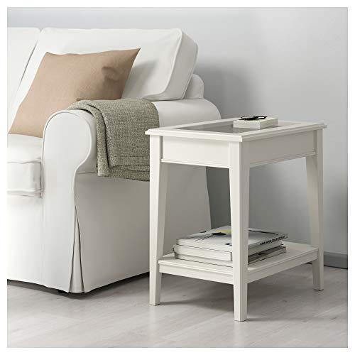 Ikea Tavoli Di Vetro.Ikea 401 730 65 Liatorp Tavolino Da Tavolo Bianco Vetro