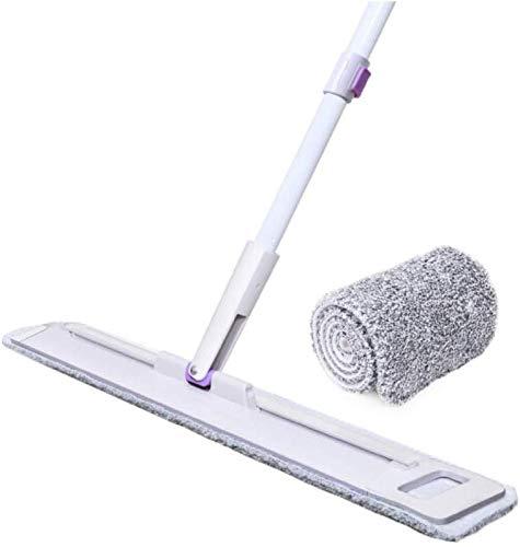 MU Mop Slider Thin großen Flach Drag Slide Mop der biegbare Thin der Bodenplatte ist Multi-Effekt Sauber, insgesamt 2 Schrubber Cloth