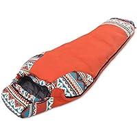 JSHFD Saco de Dormir de Invierno Saco de Dormir de Viaje para Acampar en Invierno Saco
