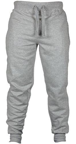 new-mens-slim-fit-tracksuit-bottoms-skinny-jogging-joggers-sweat-pants-trousers-small-32-34-waist-li