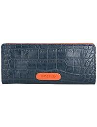 Hidesign Women's Wallet (Midnight Blue Lobster)
