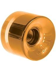 OJ Wheels Hot Juice 78A Skateboard Wheels (Transparent Orange, 60mm)