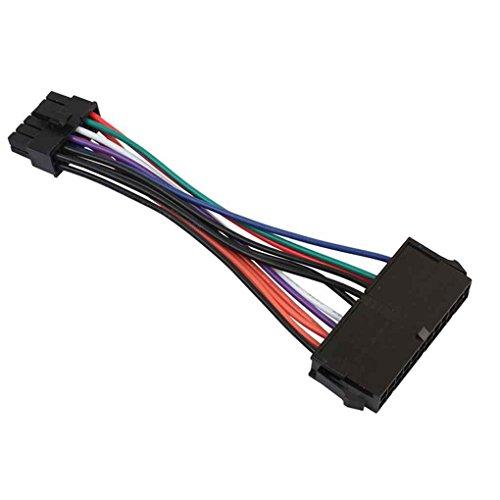 Providethebest 24P-Buchse auf 12P Male Stromkabel Stromversorgungskabel Kabel-Draht-Linie f¨¹r Acer Q87H3-AM Q87H3 AM Q87 Motherboard