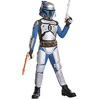 Star Wars Deluxe Child's Jango Fett Costume, Medium by Rubie's