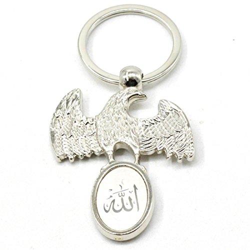 Faynci New Fancy Muslim Islamic Eagle Allah Key Chain Gifting for Ramadan,...