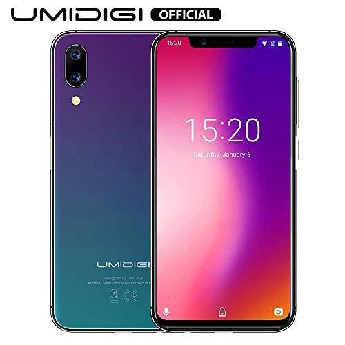 UMIDIGI One Pro Smartphone Libre 4G Volte 5.9' Incell 19: 9 Soporte Cargador inalámbrico de 15W Batería 4150mAh...