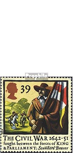 Prophila Collection Großbritannien 1405-1408 (kompl.Ausg.) 1992 Beginn des engl. Bürgerkrieges (Briefmarken für Sammler) Militär
