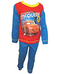 This Disney Cars Lightning McQueen Kids Costume Hoodie is great for a last minute costume idea. It features an image of Lightning McQueen on the front with a checkered flag lined hood.
