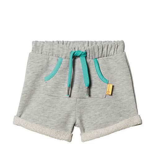 Steiff Baby-Jungen Shorts, Grau (Gray Violet 9008), Gr. 74 -