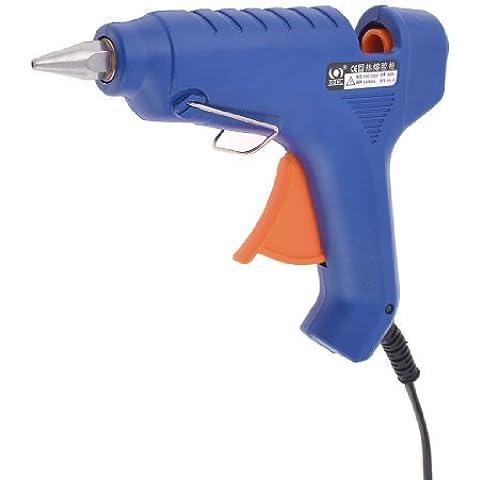 1.2M AC 100-240V Azul Calefacción Melt eléctrico Gatillo pistola de pegamento enchufe de los EEUU