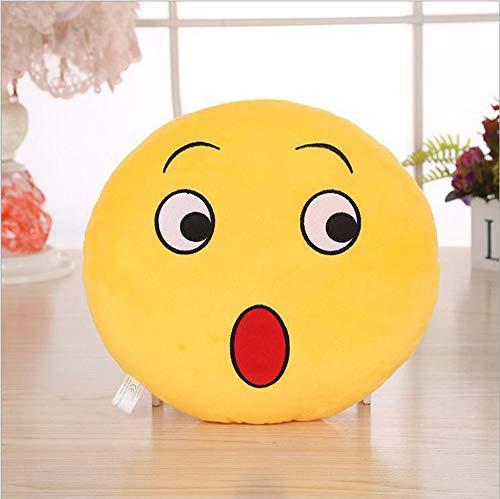 TianranRT 32cm Suave QQ Emoji Emoticon Sonriente