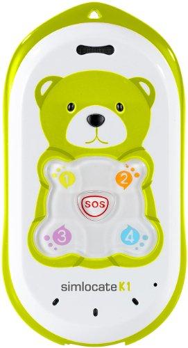simvalley MOBILE Kinderhandy mit GPS: Kinder-Handy simlocate K1 mit Garantruf & GPS-Ortung (Kinderhandy mit GPS Ortung)