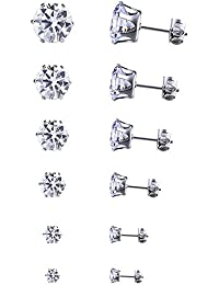 Young & Forever Valentine Gifts Special Silver Silver Plated Stud Earrings For Women