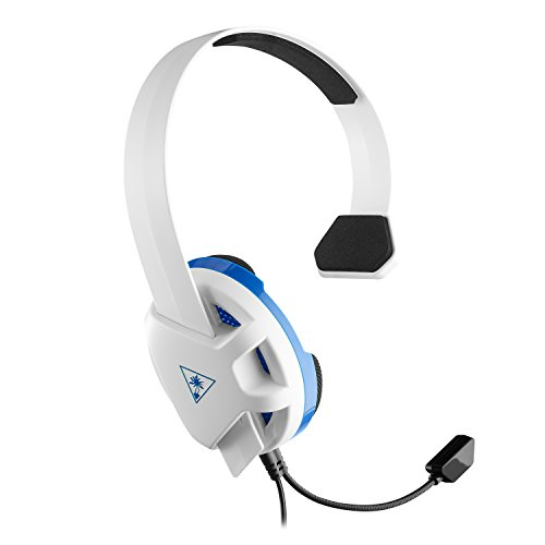 Turtle Beach Recon Chat Blanco - Auriculares gaming para PS4 y Xbox One
