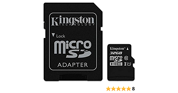 Original Kingston Microsd Karte Speicherkarte 32gb Für Elektronik
