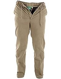 Hombre Duke D555 Tamaño King Grande Alto Basilio Con Botones Pantalones De Rugby Chinos