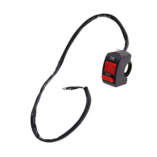 Imported Motorcycle Handlebar headlight On Off Kill Dual Flash Turn Signal Switch  available at amazon for Rs.99