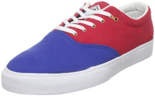Emerica Reynolds Cruiser Rot/Weiß/Blau Schuh, Rot/Weiß/Blau - Größe: 42 EU (Reynolds Weiß Schuhe)