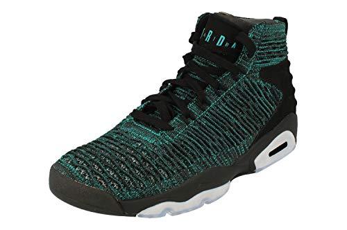 d2c1ce3e61ddd Nike Men's Jordan Flyknit Elevation 23 Basketball Shoes, Multicolour (Turbo  Green/Black-Anthracite 300), 8 UK