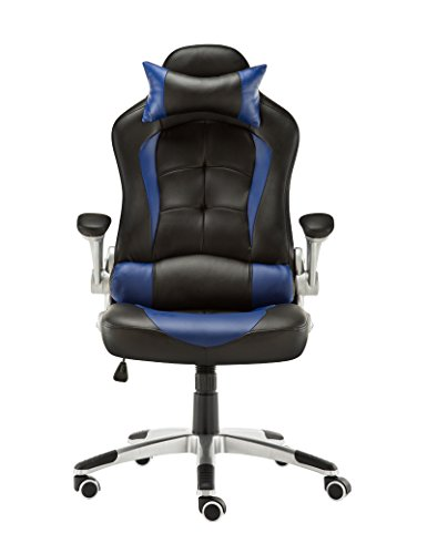Blue GAMING CHAIR WITH ARMRESTS REVIEWS 2017 UK