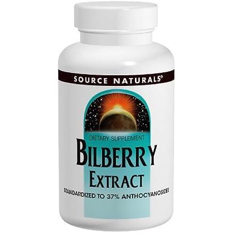 El extracto de arándano, 100 mg, 120 tabletas - Source Naturals