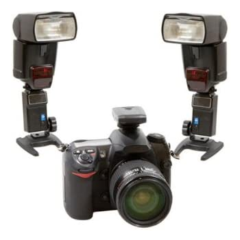 Delamax Fernauslöser für Blitz (30m, kompatible mit 2Empfänger für fast alle Blitzgeräte: Canon 600EX 580EX II, 430EX II–Nikon SB-910, SB-900, SB-800, SB-700, SB-600, usw.)