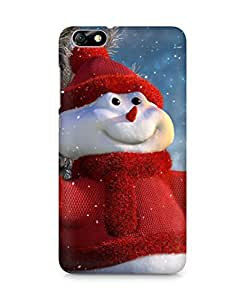 Amez designer printed 3d premium high quality back case cover for Huawei Honor 4X (Christmas Snowman)