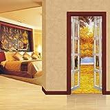Aufkleber Scenery Doors Double Door Decals
