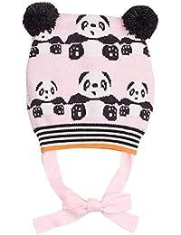 Happy Cherry Bonnet Bébé Animal Panda Mignon Chapeaux en Laine Enfant Fille  Garçon Bonnet Tricot Hiver Automne Chapeau Crochet 3… e30e150d1d5