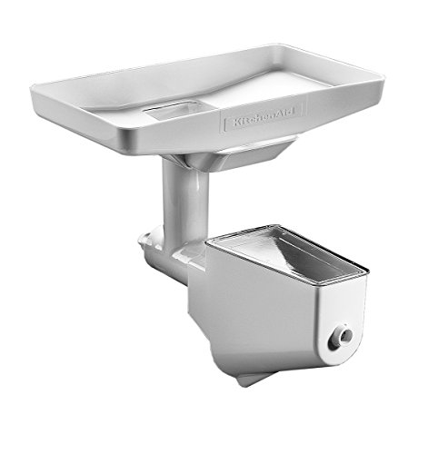 KitchenAid 5FT Vassoio per alimenti, utilizzabile in combinazione con il tritatutto 5FGA o il passaverdure 5FVSP, Accessorio per Robot da Cucina KitchenAid