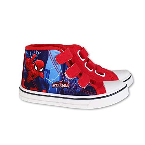 Spiderman, Jungen Sneaker, Rot - rot - Größe: 30 EU