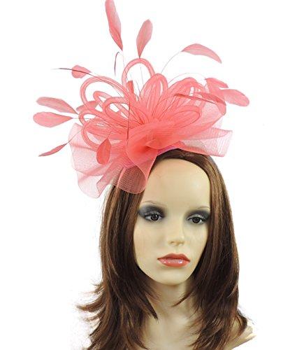 Hats By Cressida Damen Sonnenhut Pink Korallenrot Einheitsgröße
