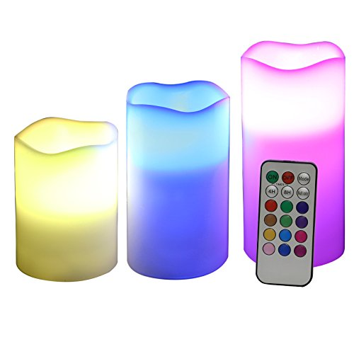 velas artificiales led