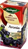 Herbapol Aronia Tee /// Herbaciany ogrod Aronia 100% natury z duzych kawalkow owocow.20 szt. 70g