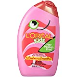 L Oreal Kids Extra Gentle 2 In1 Shampoo, Burst Of Strawberry Smoothie, 9 Oz