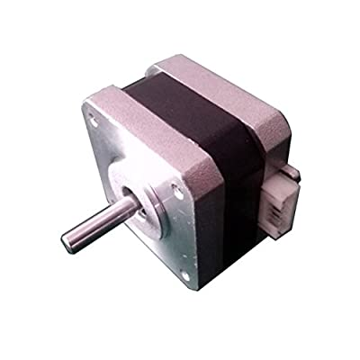 UEETEK NEMA 17 Schrittmotor 12V 1.2A 0.2Nm 1,8 ° für 3D-Drucker Zweiphasen-4-Draht-CNC