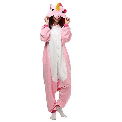 Silver_river Unisex Adult Kigurumi Pajamas Animal Onesie One Piece Cosplay Costume Halloween Nightwear Jumpsuit Hoodies Costume Pajamas