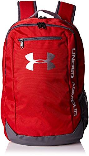 Under Armour UA Hustle Backpack LDWR Mochila, Hombre, Rojo (Rojo)