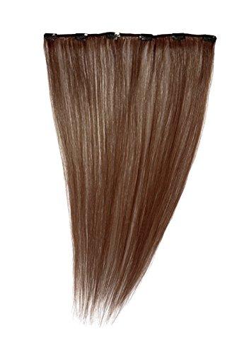 American Dream - A1/QFC12/18/33 - 100 % Cheveux Naturels - Barrette Unique Extensions à Clipper - Couleur 33 - Cuivre Riche - 46 cm