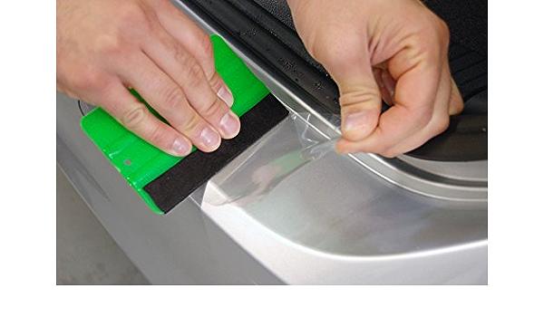 Ladekantenschutz Schutzfolie Transparent Extra Stark 0 24mm Passend Für Nissan Qashqai J10 Baujahr 2007 2014 Auto