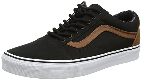 Vans Ua Old Skool, Sneakers Basses Homme Noir (C And L Black/material Mix)
