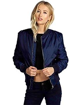 Vovotrade Las mujeres con cremallera de la chaqueta