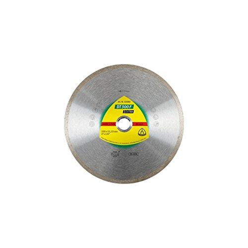 Klingspor DT 300 F EXTRA Diamanttrennscheibe für Fliesen, Basic für Tischsäge, 200 x 25,4/30 x 1,6 mm