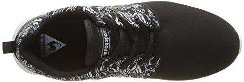 Le Coq Sportif Dynacomf W Feathers, Baskets Basses Femme Noir (Black)