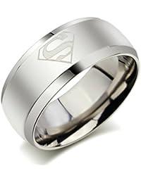 Sorella'Z Mens Alloy Metal Silver Tone Ring For Men